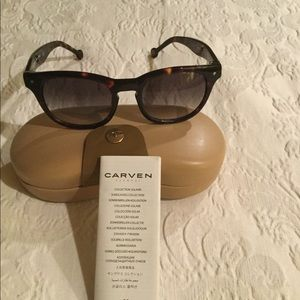 Carven Tortoise Sunglasses